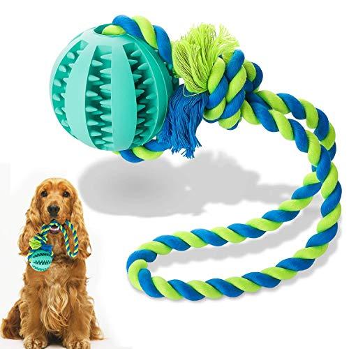 Vunake Hundespielzeug Ball für große Hunde mittelgroße Hunden kleine Hund robustem ungiftig kauspielzeug Intelligenz IQ Training Zahnreinigung Haustier Hund Spielzeug Robust Dog Toy Katze Seilball