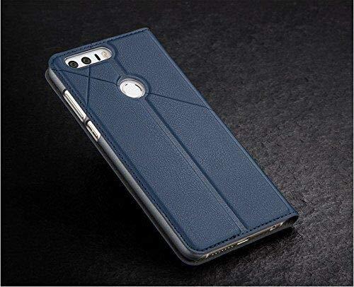 Bubunix Hua Wei Honor 8 Flip Case Hülle, Honor 8 Handyhülle, Geschäfts Art Leder Schlag Schutzhülle Tasche for Huawei Honor 8 - 2