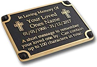 wall mounted memorial plaques