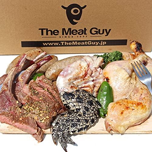 ミートガイ ワニ肉入り 極 インパクト大 BBQセット 2.8kg 6-10人前 【販売元:The Meat Guy(ザ・ミートガイ)】