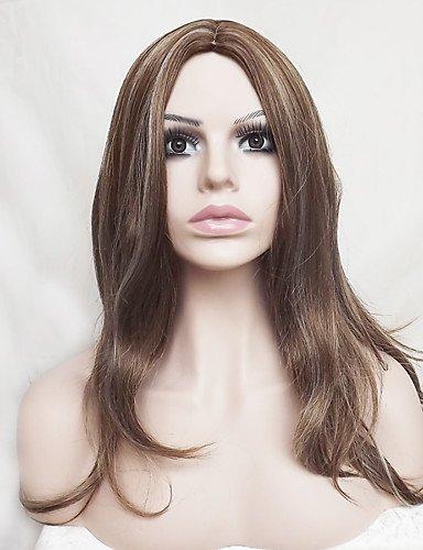 jiayy Europe et les États-Unis avec lin Viejas pelucas de poils de nylon 18 pouces naturelles de quarantaine et 18\