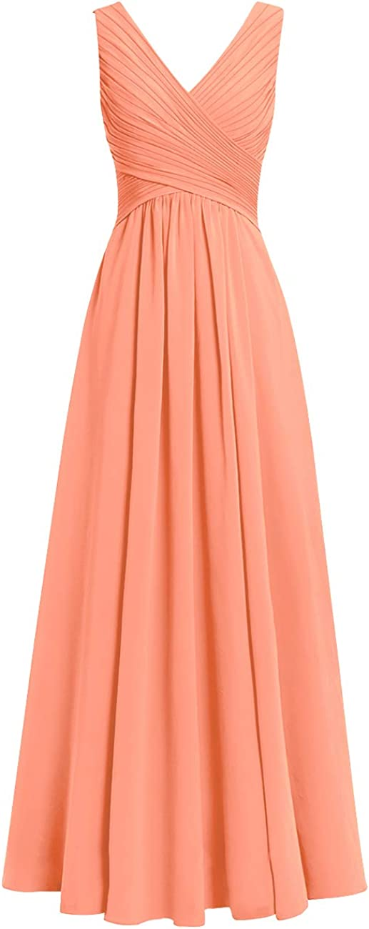 JAEDEN Bridesmaid Dress Long Chiffon Prom Dresses Formal Evening Chiffon Long Gowns