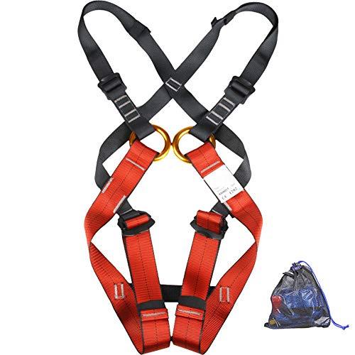 Aprilhp Klettergurt Kinder, 3-14 Jahre, Kinder Sicherheitsgurt für Bergsteigen Klettern Harness, Das Gurtband ist dick und langlebig, Sicher und Bequem, Baumklettern Ausrüstung