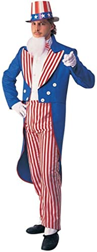 Horror-Shop Uncle Sam Anzug L