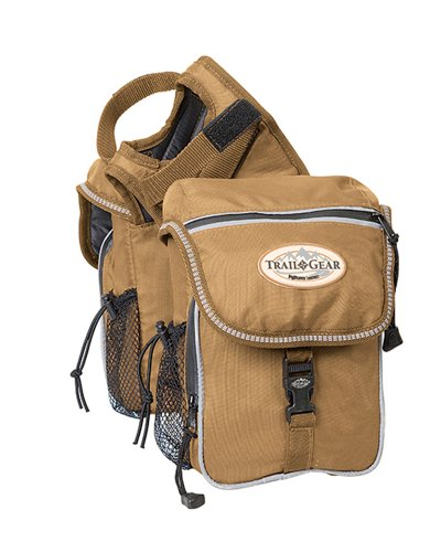 Weaver Leather Trail Gear Pommel Bag, Brown