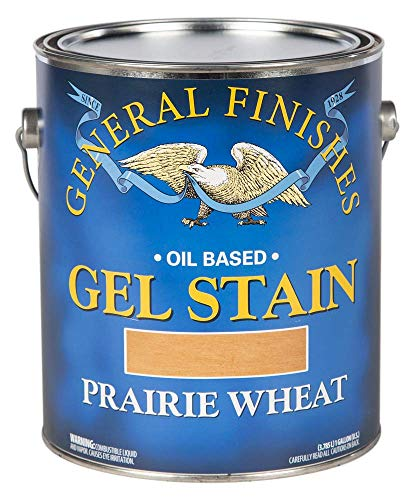 General Finishes Oil Base Gel Stain, 1 Gallon, Prairie Wheat