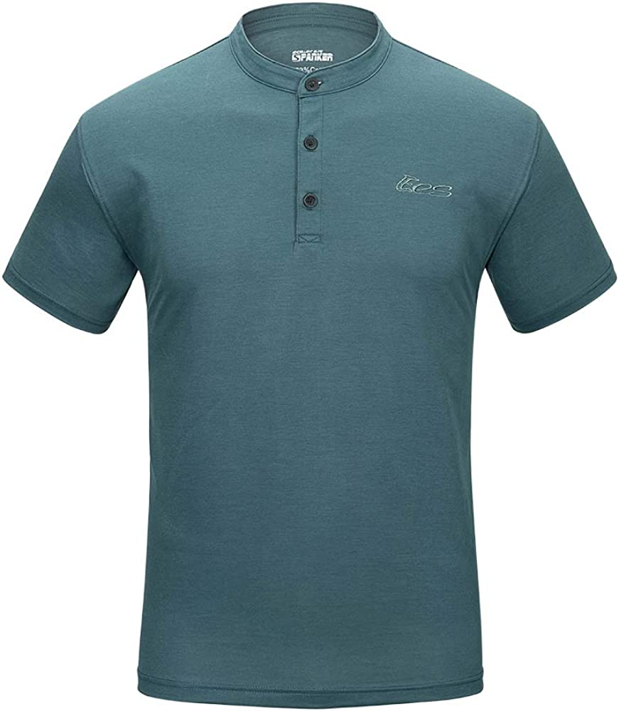 EXCELLENT ELITE SPANKER Mens Polo Neck Easy-to-use Special price for a limited time Casual Sports Shirt Crew