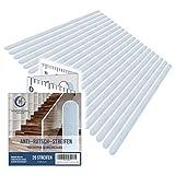HYGGENDAHL 20x Anti-Rutsch Streifen für Treppen I Selbstklebender Rutschschutz Transparent I...