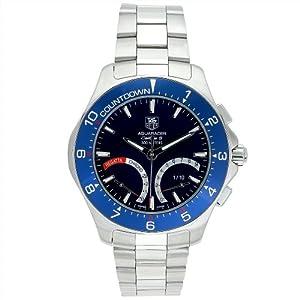 TAG Heuer Men's CAF7110.BA0803 Aquaracer Calibre S Regatta Chronograph Watch image