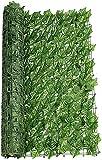 Malla De Ocultacion Jardin Ocultacion Jardin Decoración de jardín Pantalla de privacidad Panel de esgrima Paneles de seto de Hoja Seto de Madera Enrejado retráctil Valla de protección Rollo HSWYJJ