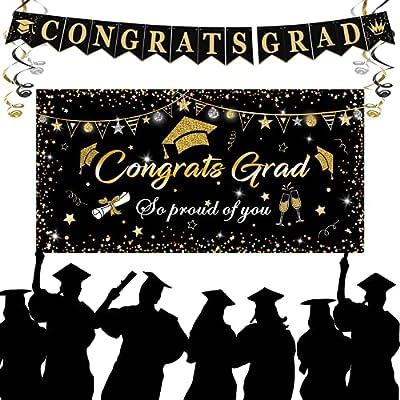 Graduation Decorations 2021, Graduation Party S...