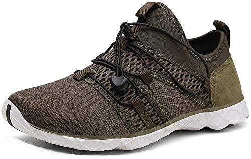 Zapatos de Agua Escarpines Hombre Mujer Zapatillas de Deportivas Secado rápido Anti-Deslizante Zapatillas de Running Ligero Sneakers Cómodos Fitness