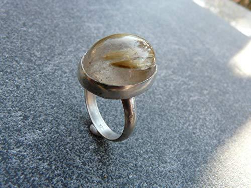 Silberring mit Rutilquarz
