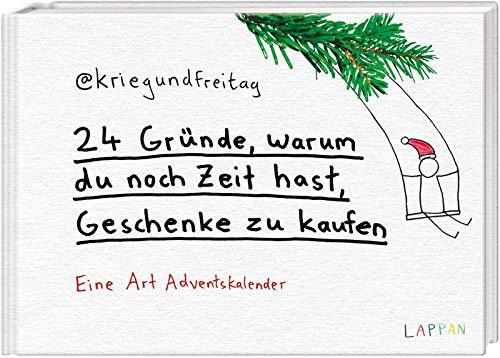 24 Gründe, warum du noch Zeit hast Geschenke zu kaufen: @kriegundfreitag Adventskalender