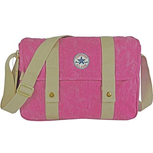 CONVERSE Umhängetasche Satchel Schultertasche Handtasche Damentasche Pink Paper