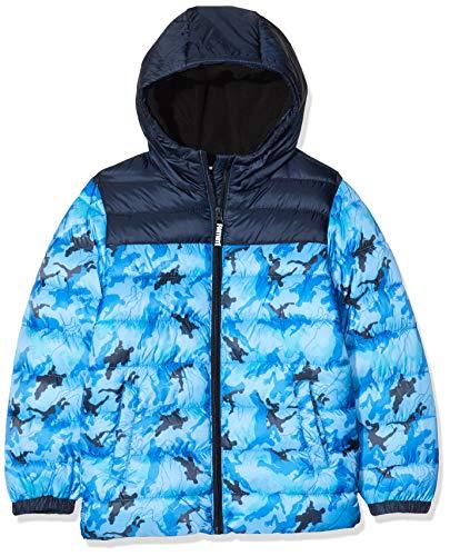 NAME IT Jungen NKMFORTNITE FREJ Jacket LIC Jacke, Blau (Ueprint Ueprint), (Herstellergröße: 158)