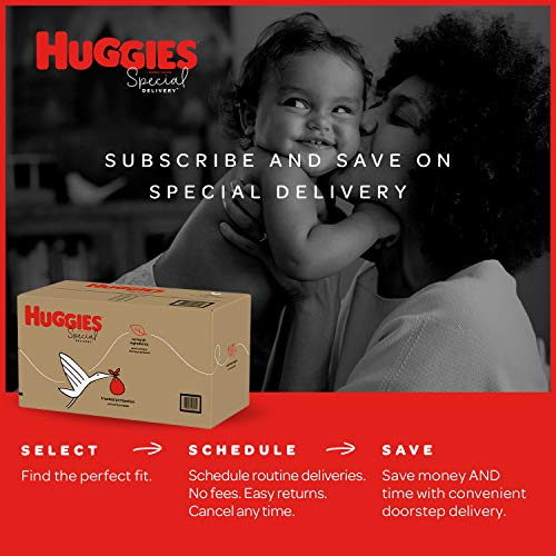 Huggies Special Delivery Hypoallergenic Baby Diapers, Size 4, 100 Ct, One Month Supply
