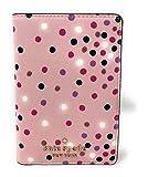Kate Spade New York Passport Holder Travel Wallet Confetti Dot Pink