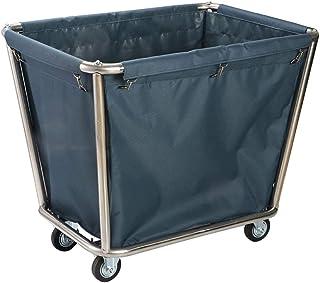 Chariot à Linge Chariot commercial de collecteur de blanchisserie avec la roue, sac démontable de panier de panier de blan...