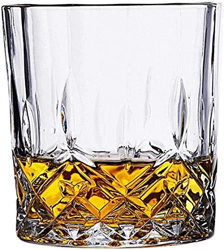 Vasos de whisky a la moda Vasos únicos de cristal de borbón de imitación de brandy Vasos para beber Vaso - # 3 (230ml)