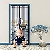 Mosquitera Magnética, Nueva Versión En 2021 Cortina Mosquitera Magnética Para Puertas, Con Malla Super Fina Para Dejar Pasar El Aire Fresco, Para Puertas Correderas/balcones/terraza