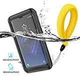 QOSnyDmy Compatible with Samsung Galaxy S8 Plus Waterproof