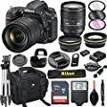 Nikon D750 DSLR Camera with 24-120mm VR Lens + 32GB Card, Tripod, Flash, and More (20pc Bundle) by Al's Variety