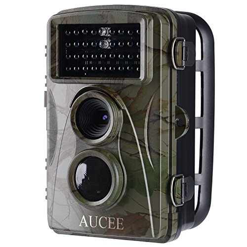 AUCEE Hunting Camera, 12MP 1080P Full HD Trail Camera Infrared Wildlife Camera with Night Vision up...