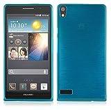 Cadorabo Hülle für Huawei P6 - Hülle in TÜRKIS –