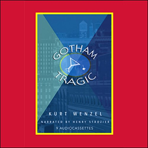 Gotham Tragic audiobook cover art