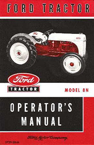 bishko automotive literature 1948 1949 1950 1951 1952 Ford 8N Tractor Owners...