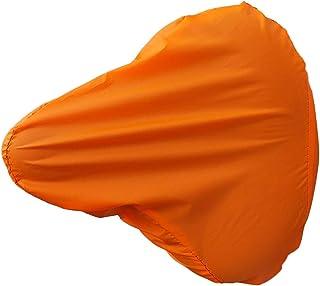 2 Stück Orange Wasserdichter Sattelbezug Sattelschutz Fahrrad Regenschutz