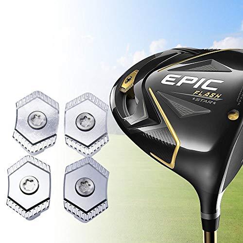 HISTAR 4pc Golf Weight Screw (6.5g/10g/13.5g/17.5g) for Callaway Epic Flash Driver Head