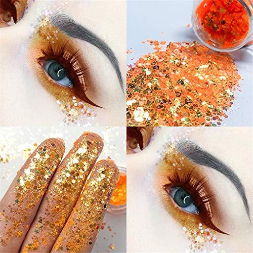 Puff Nail Art Rouge à lèvres Ombres à Paupières Beauté Outils Correcteur,Palette de poudre fard à paupières scintillante mat maquillage cosmétique fard à paupières mat