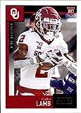 2020 Score #416 CeeDee Lamb Oklahoma Sooners NFL Football Card (RC - Rookie Card) NM-MT. rookie card picture