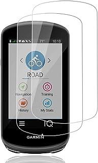AiMok Cristal Templado Protector de Pantalla Compatible con Garmin Edge 1030 Plus, [2 Piezas] Cristal Templado Protector H...