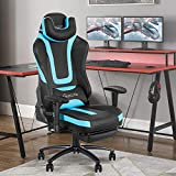 Okeysen Gaming Chair,Ergonomic Recliner High Back Adult Computer Game Chair with Retractable...