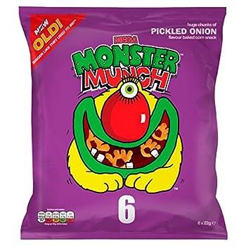 Mega Monster Munch Pickled Onion 22g x 6 per pack