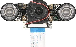 5 Million Camera Module, Night Vision Manual Switch IR Cut Camera Module Board, Compatible with Raspberry pi B 3/2