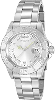 Invicta Women's 12819 Pro Diver Silver Dial Diamond Accented Watch