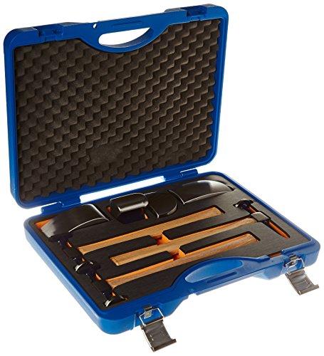 Power-TEC 92437.0 Karosseriehammer und Handfaust Satz, 7-Teilig