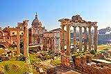 Forum Rom Antike Italien XXL Wandbild Kunstdruck Foto