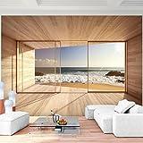Vlies Fototapete 352×250 cm – 9051011a 'Fenster zum Meer' RUNA Tapete - 2