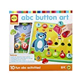 Alex Discover ABC Button Art Kids Art and Craft Activity