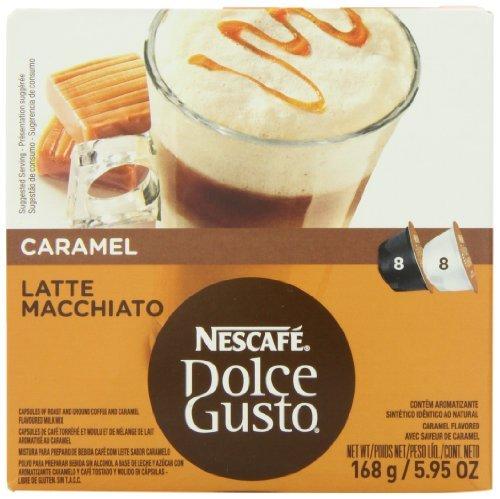 Nescaf? Dolce Gusto for Nescaf? Dolce Gusto Brewers, Caramel Latte Macchiato, 16 Count, Garden, Maison, Jardin, Pelouse, La maintenance