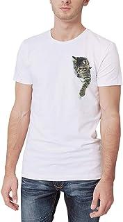 BlountDecor Fashion T-Shirt,Nostalgic Traveler Journey Fashion Personality Customization