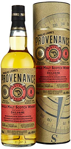 Douglas Laing DAILUAINE Provenance 8 Years Old Single Malt Scotch Whisky 2010 (1 x 0.7 L)