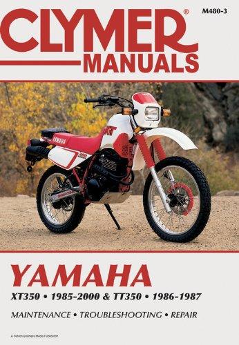 YAMAHA XT350 & TT350 1985-2000 (CLYMER MOTORCYCLE REPAIR)