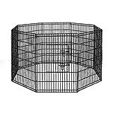 i.Pet 2X 36 8 Panel Pet Dog Playpen Puppy Exercise Cage Fence Rabbit