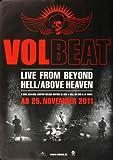 Volbeat Live 2011 - Original Konzertposter, Konzertplakat